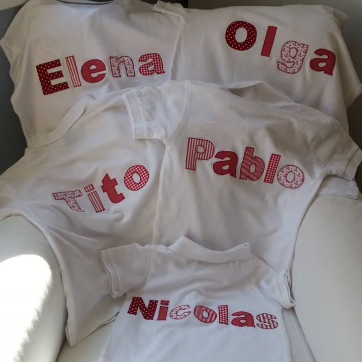 Ropa personalizada a un click con Topitos and Family